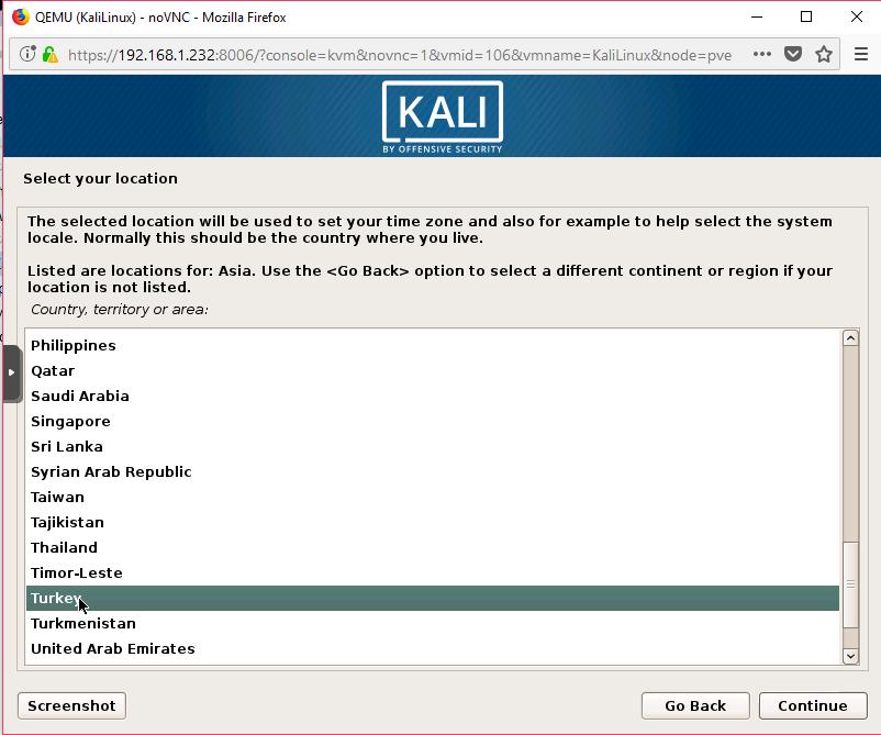 Kali Linux Kurulum 5