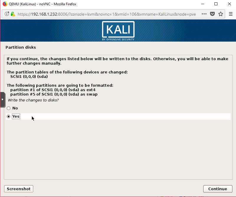 Kali Linux Kurulum 15